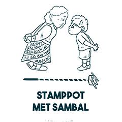 Stamppot met sambal - Logo