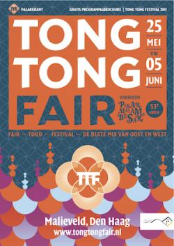 Pasarkrant 2011, de programmakrant van het Tong Tong Festival 2011