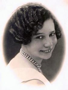 Glamourportret van de jonge Marietje van Oordt
