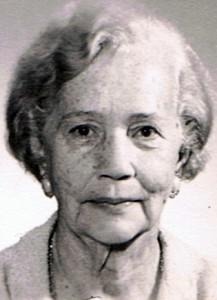 Marietje van Oordt op oudere leeftijd