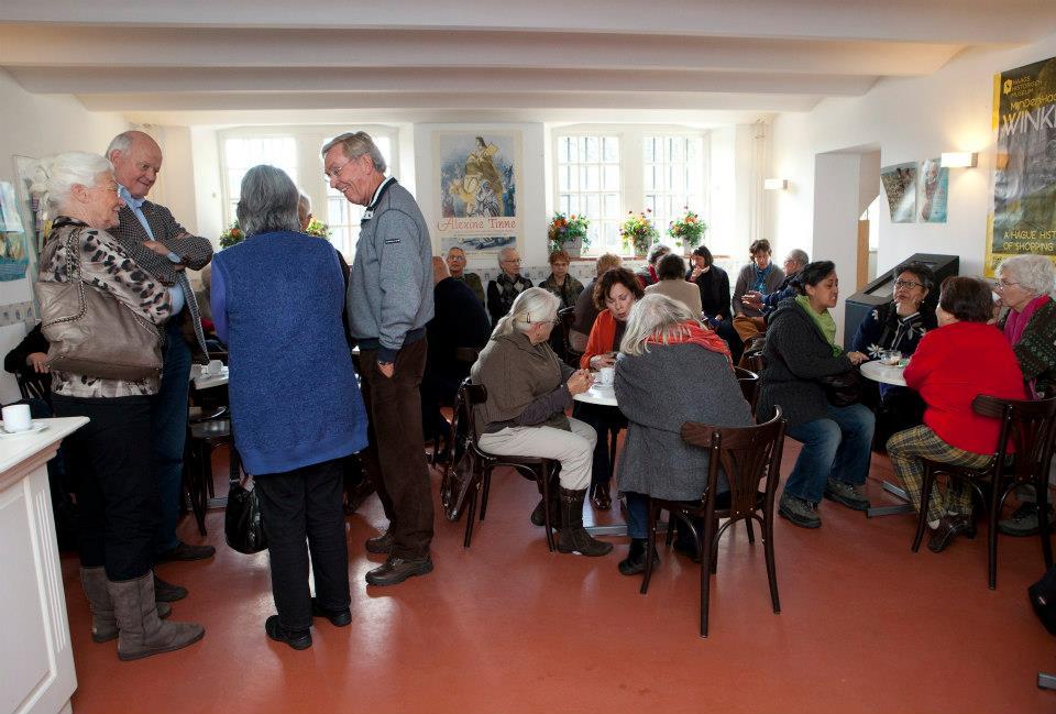 In het Haags Historisch Museum, foto Henriette Guest